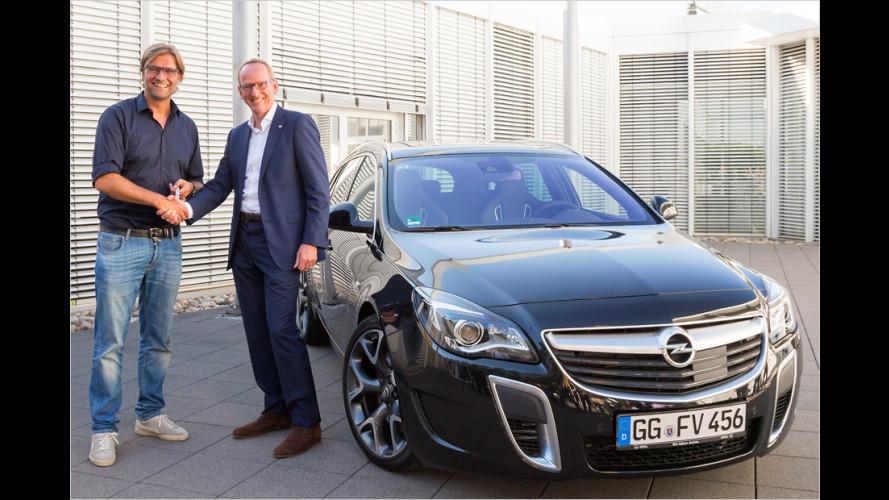 Neuer Opel für Jürgen Klopp