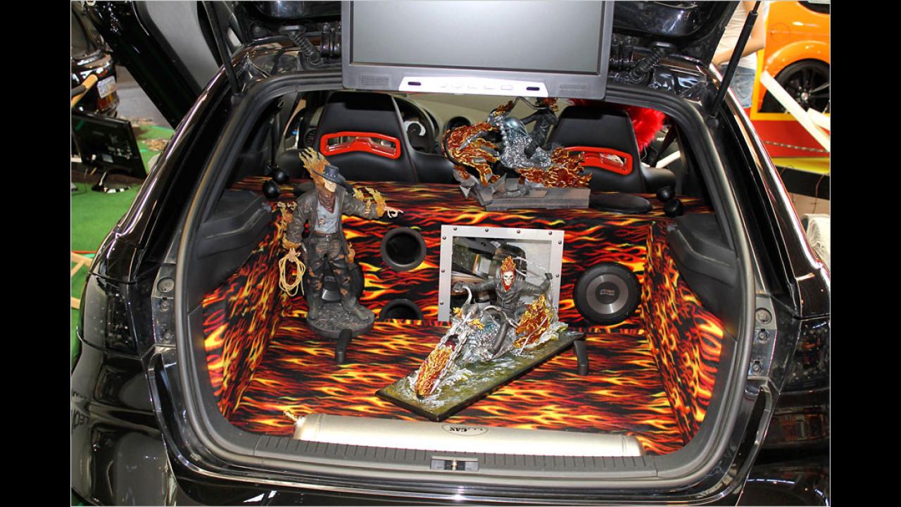 Der Phantasie bei der Kofferraumgestaltung sind keine Grenzen gesetzt