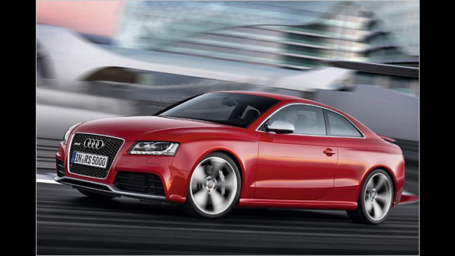 Audi RS5: Bärenstarkes Coupé debütiert in Genf