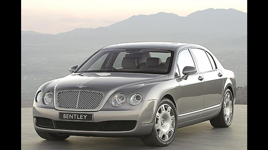 Bentley Continental Flying Spur: Viertüriger Heiß-Sporn