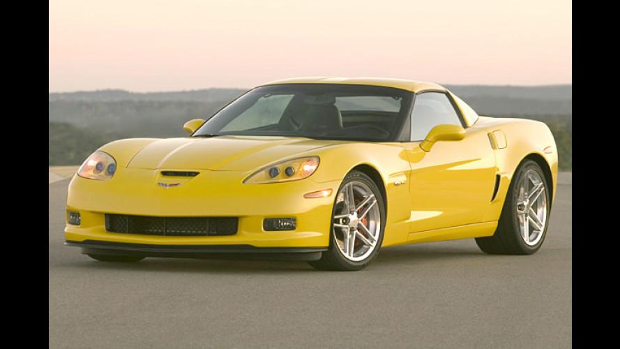 Corvette Z06: Renn-Vette fürs nächste Wettrennen
