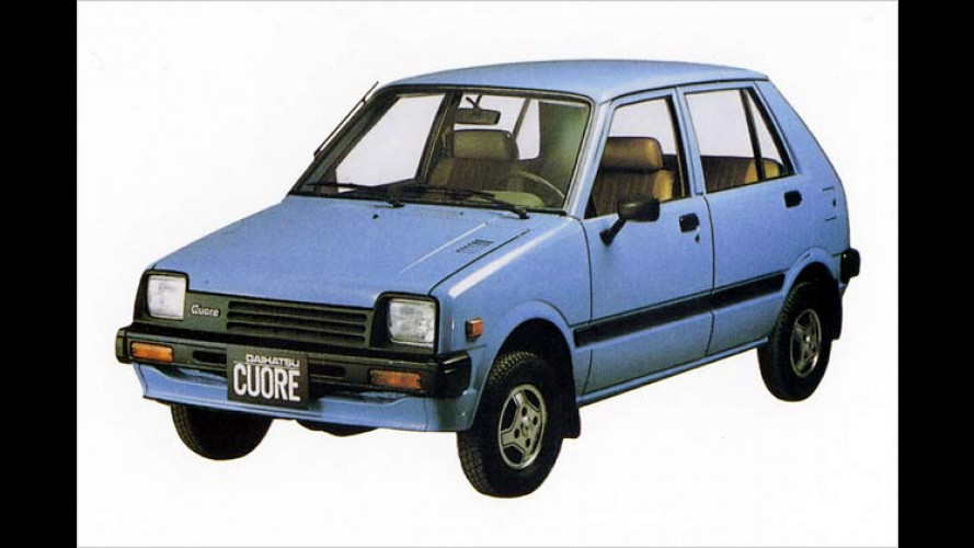 25 Jahre Daihatsu Cuore: Sechs herzige Generationen