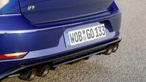 VW Golf R egyedi kipufogórendszer