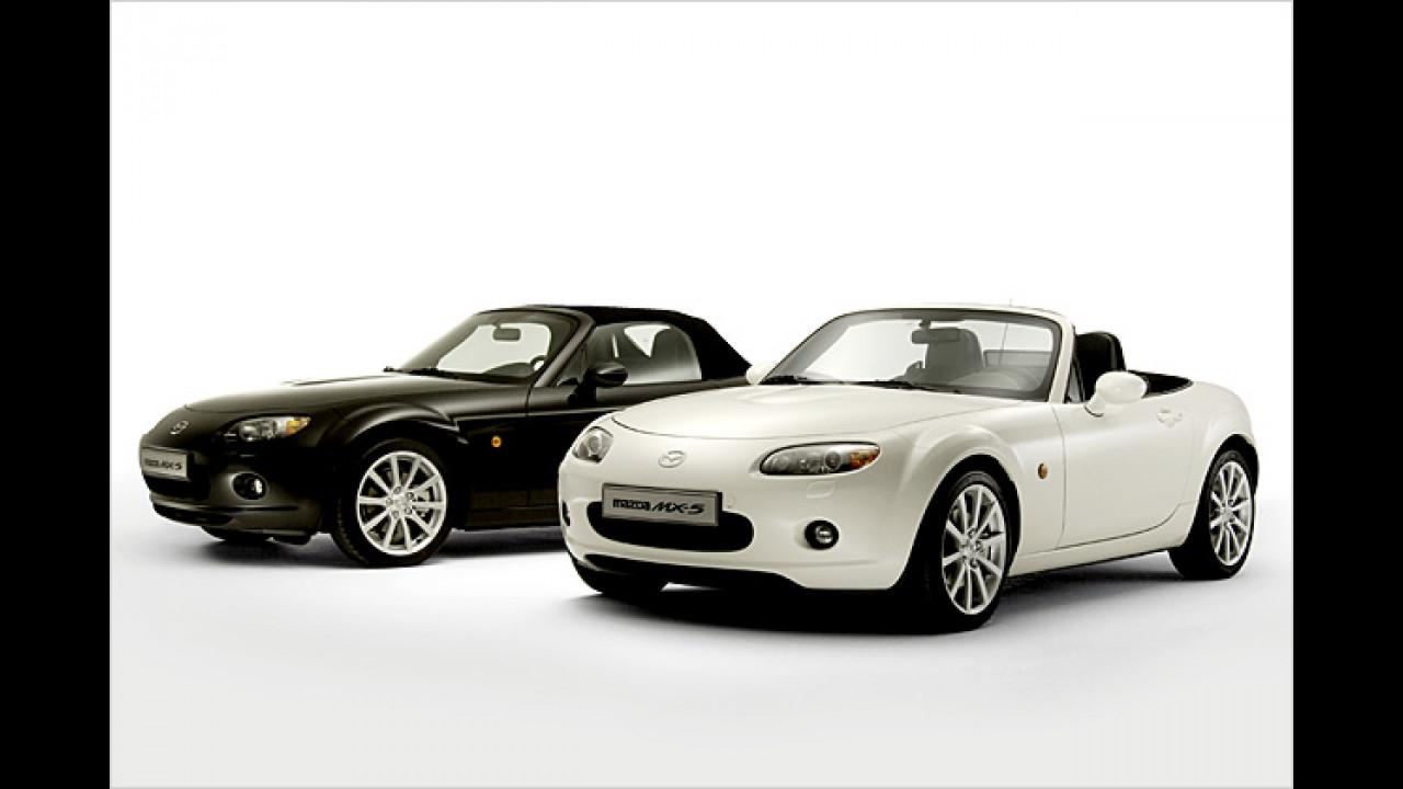 Kontrastreiches Angebot – der MX5 ,Black & White