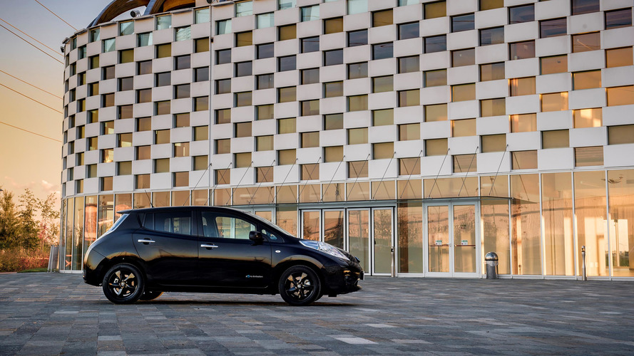 Nissan only building Leaf Black Edition for 6 months