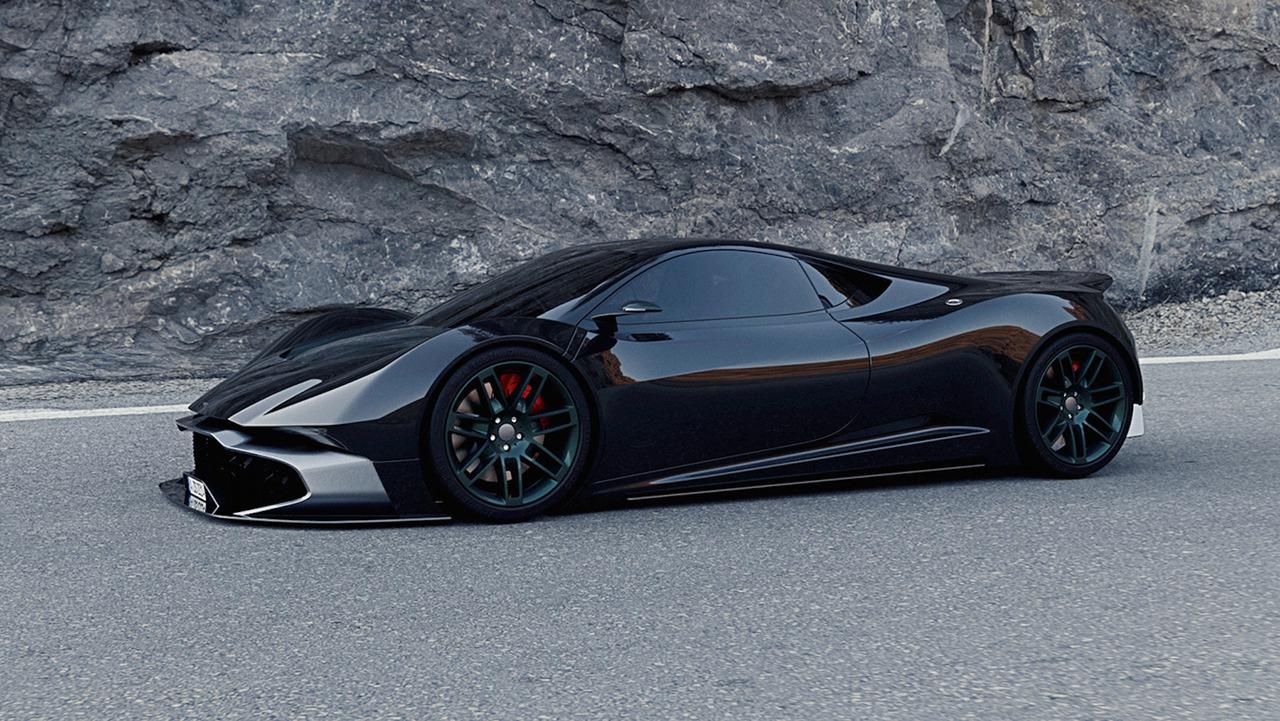 Aston Martin Rr Concept Is A Stunning Supercar Proposal