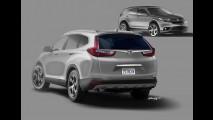 Honda CR-V 2018 terá versão esportiva com motor 2.0 turbo do Civic Type R