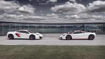 McLaren F1 & Bespoke Project 8 12.9.2012
