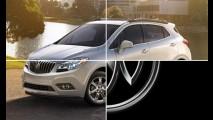 Buick adianta mais detalhes do crossover Encore