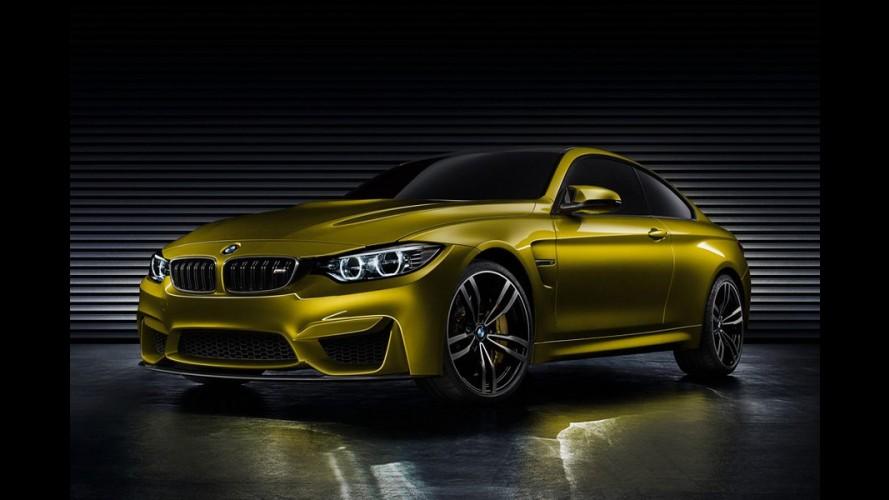 BMW M4 Concept: fotos oficiais são divulgadas antes de Frankfurt