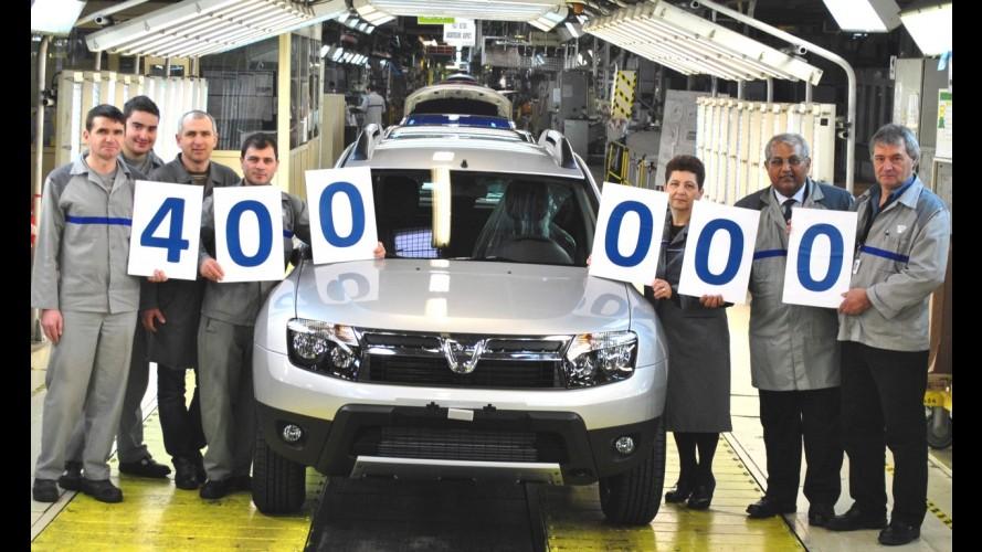 Dacia comemora produção de 400.000 unidades do Duster na Romênia