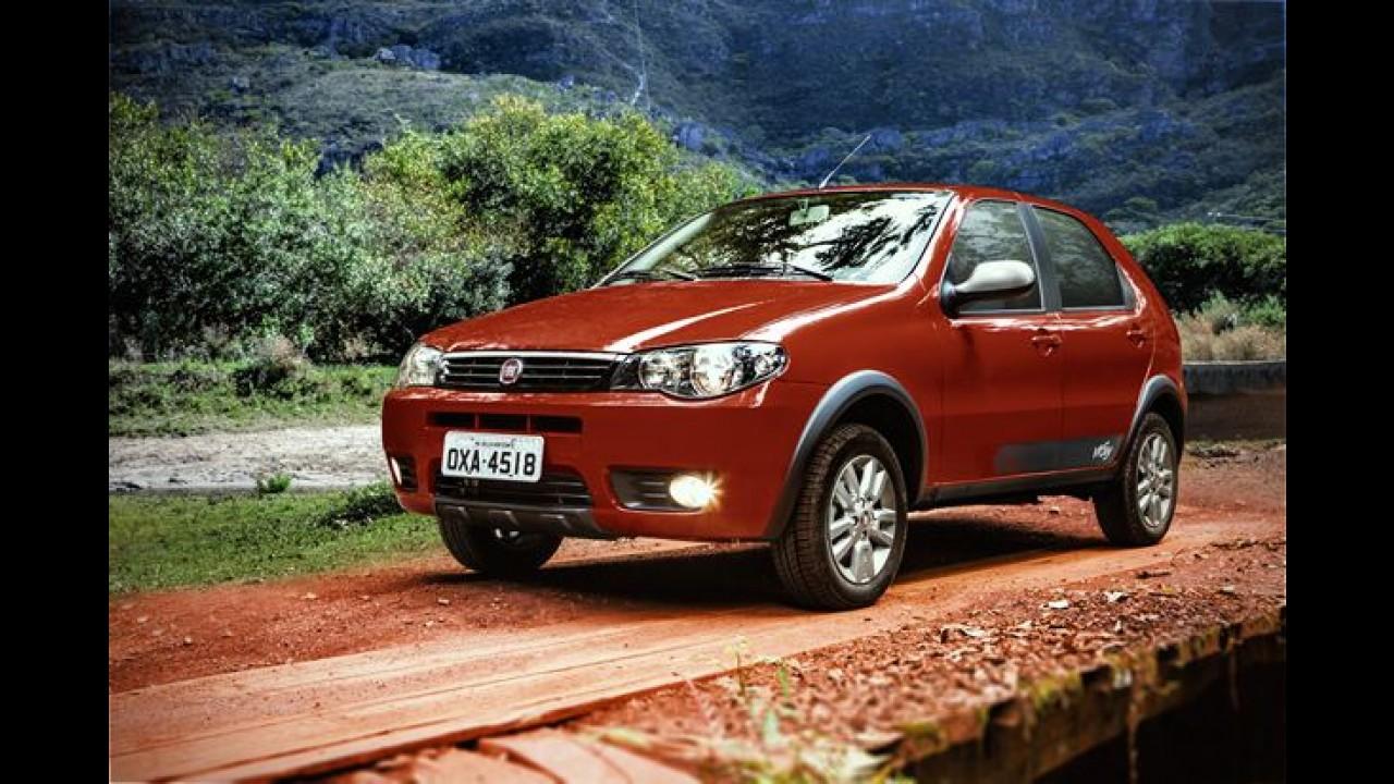 """Fiat Palio Fire Way: o """"aventureiro"""" mais barato do Brasil chega por R$ 27.860"""