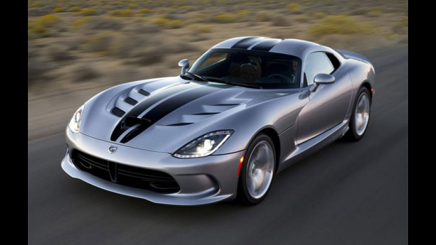 Novo Viper volta a ser Dodge e fica US$ 15 mil mais barato nos EUA