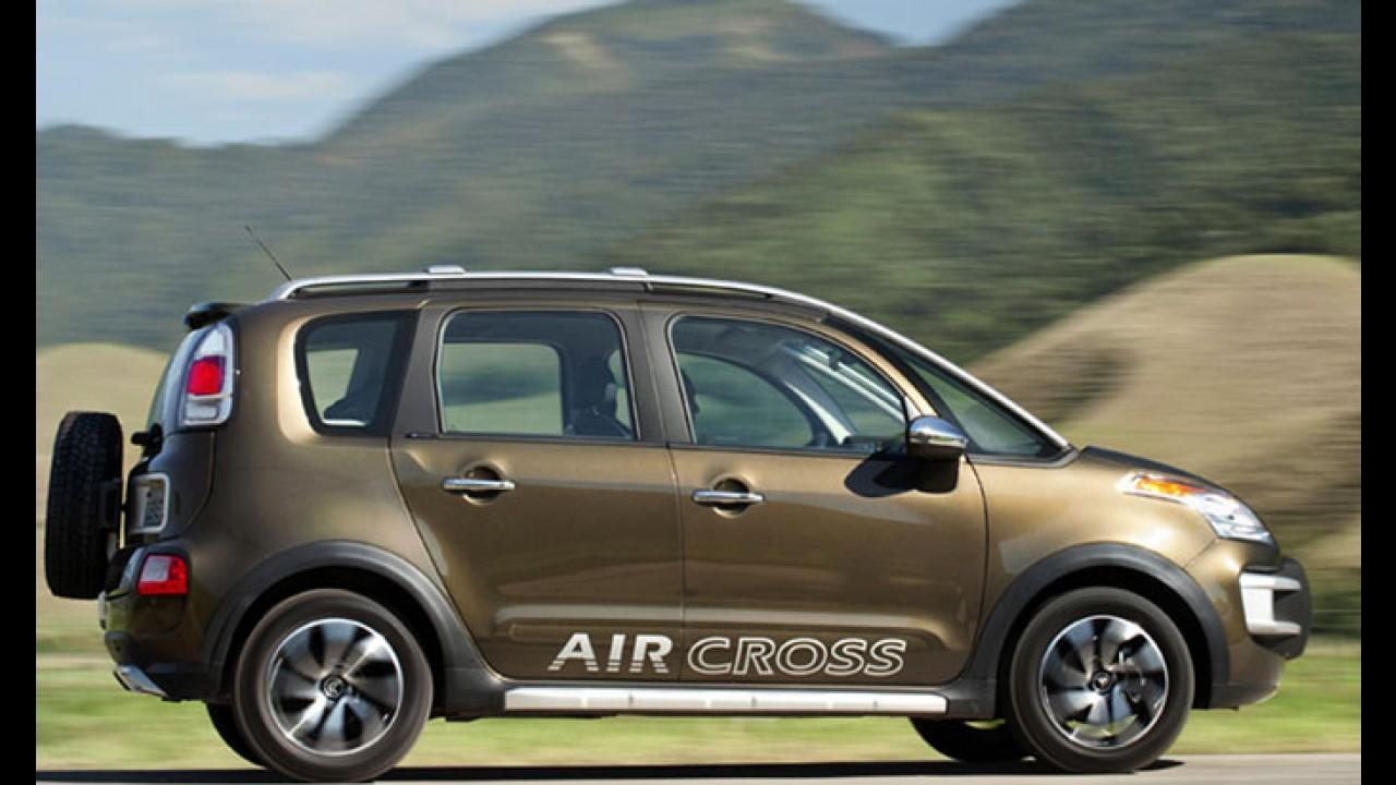 Citroën oficializa AirCross com novo motor 1.6 FlexStart de 122 cv e preços a partir de R$ 53.900