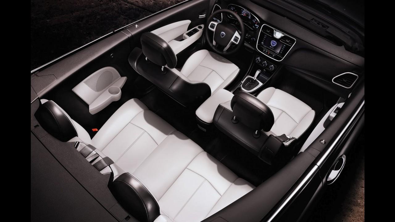 Baseado no Chrysler 200 Convertible, Lancia Flavia Cabrio será apresentado em Genebra