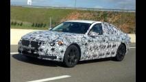 Flagra: BMW Série 7 2015 segue em testes pelo Reino Unido