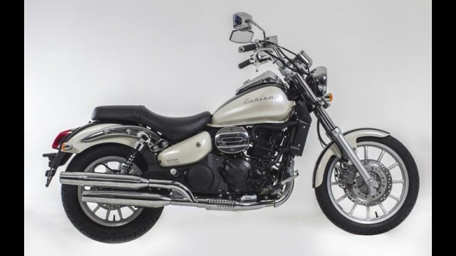 Dafra vai lançar custom Horizon 250 ainda neste mês