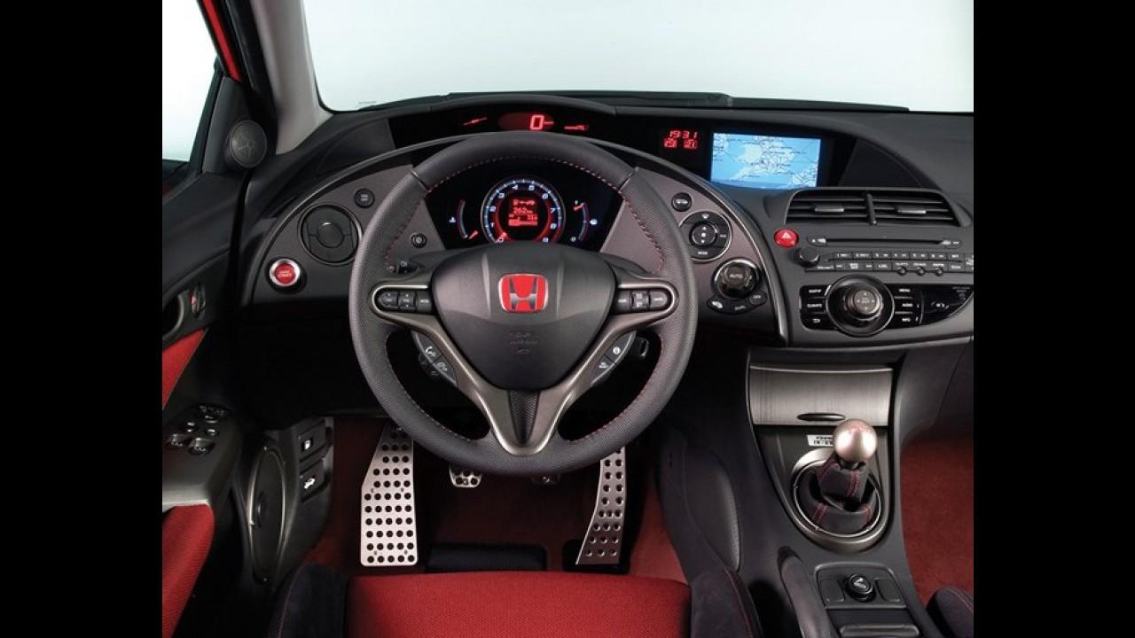 Honda Civic Type-R já roda em testes na Alemanha