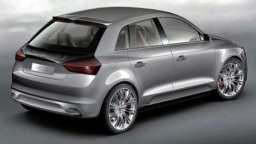 Audi A1 Sportback Concept Surfaces