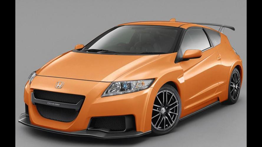 Honda apresenta o híbrido de competição CR-Z Mugen RR