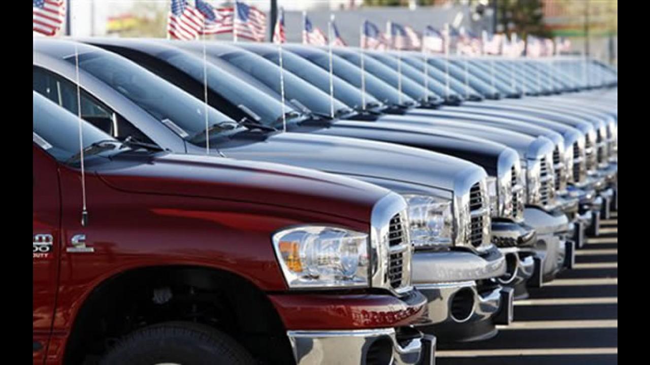 Concessionárias da Chrysler processam governo norte-americano