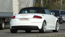 Audi TT S spy photos