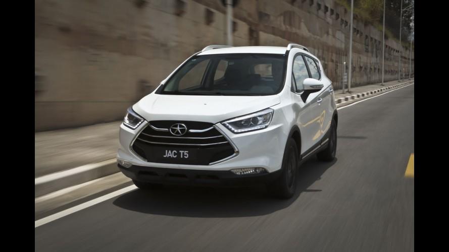 Novo JAC T5 chega em março com preços entre R$ 59 mil e R$ 72 mil
