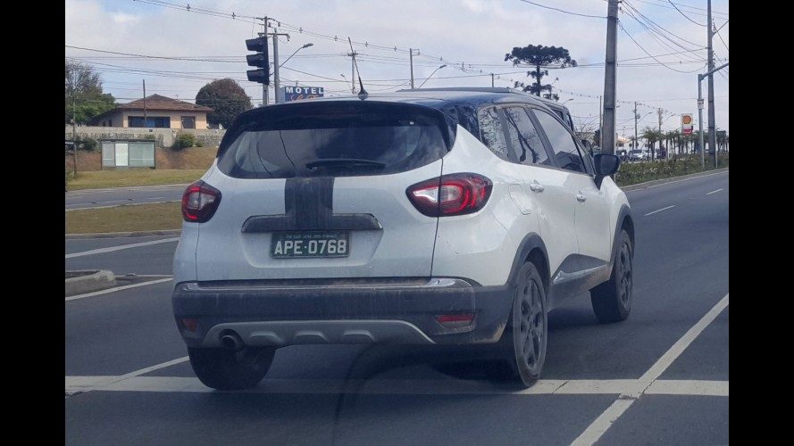 Flagra: Renault Captur nacional está quase pronto para a estreia