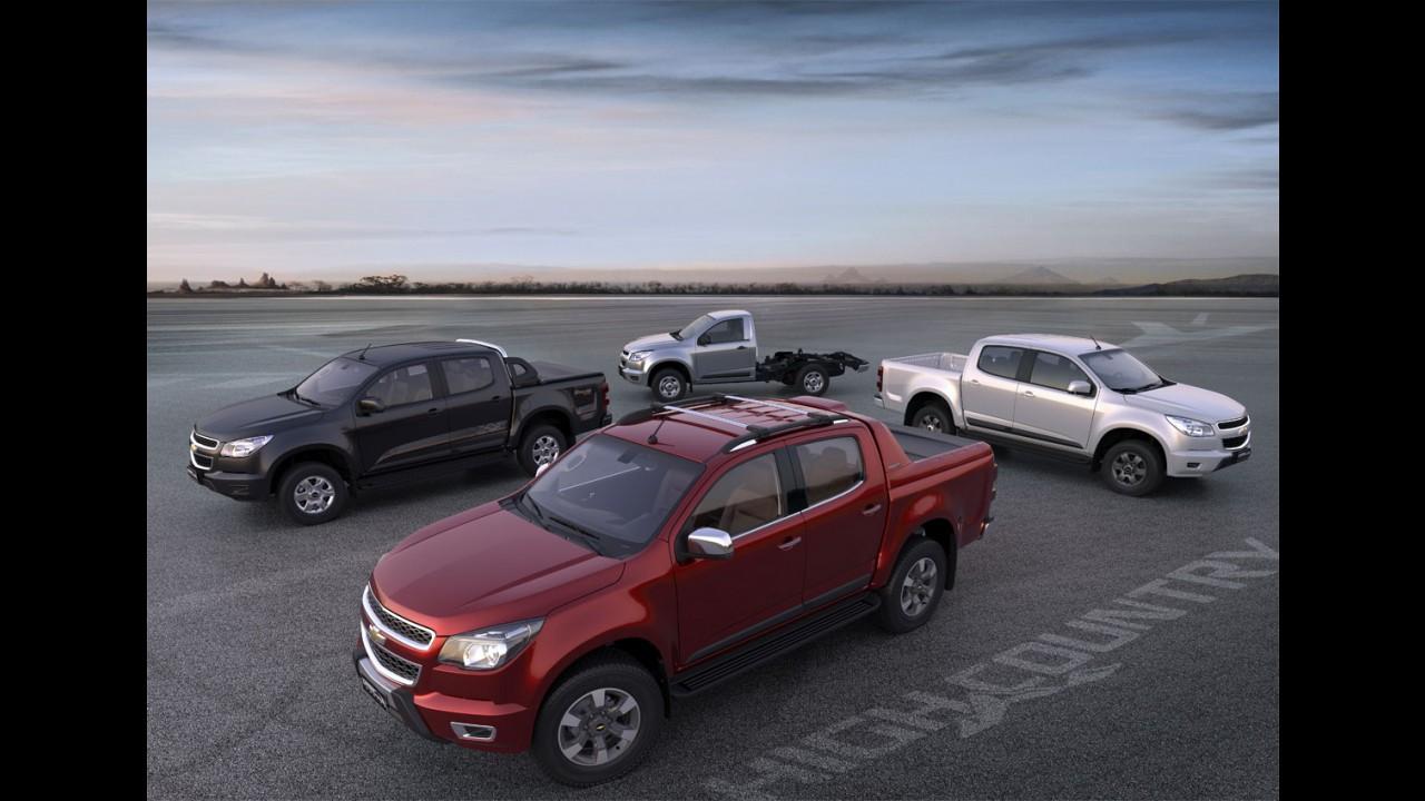Chevrolet S10 2016 chega com novas versões, incluindo a top High Country