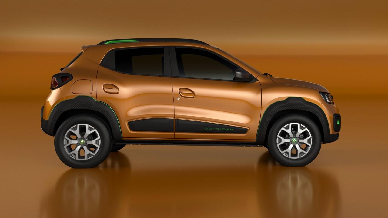 """Salão do Automóvel: Renault Kwid aparece em forma de """"conceito"""" e jura que é SUV"""