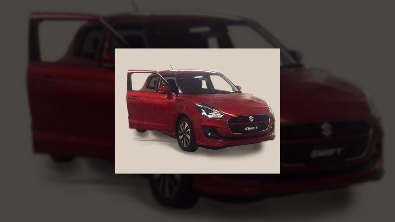 2017 Suzuki Swift leaked