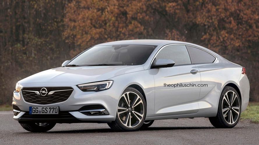 Opel Insignia Coupé, les premières images sont arrivées sur la toile
