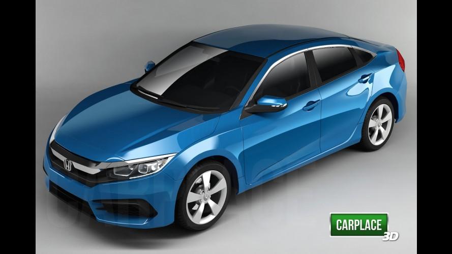 Novo Honda Civic terá foco na dirigibilidade e nas versões esportivas