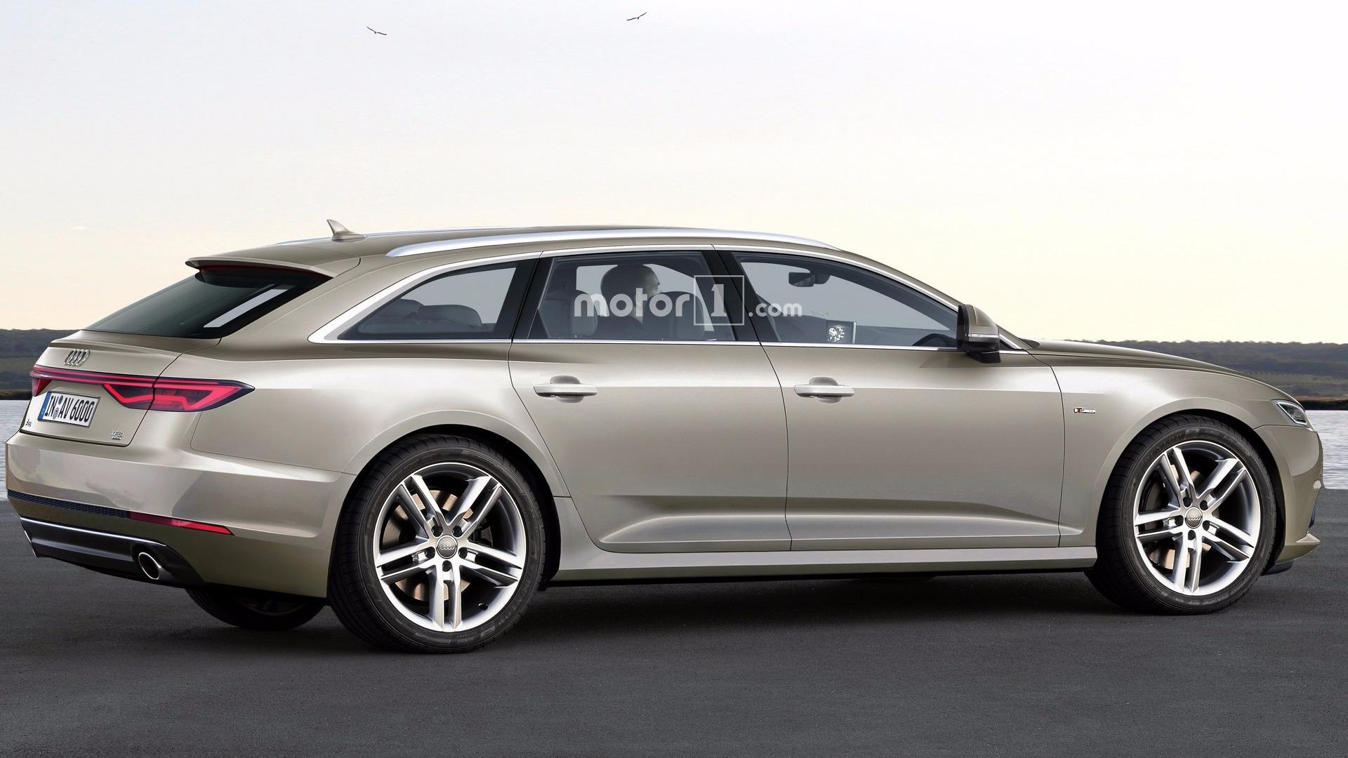Audi A6 Avant 2018 Une Image Plus Qu Int 233 Ressante