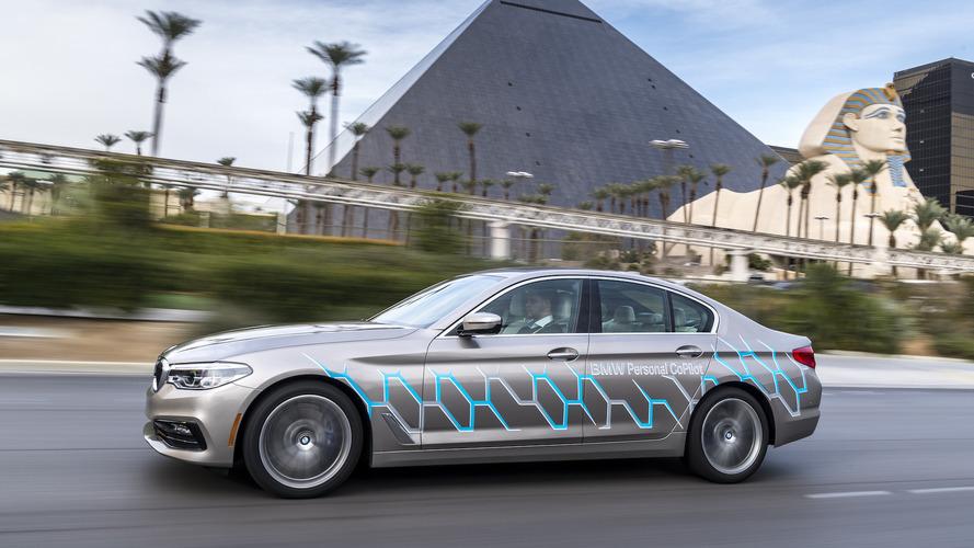 CES 2017 - La BMW Série 5 devient autonome à Las Vegas