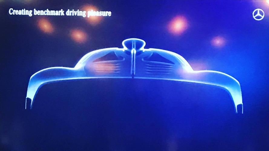 L'hypercar Mercedes-AMG fait une apparition furtive
