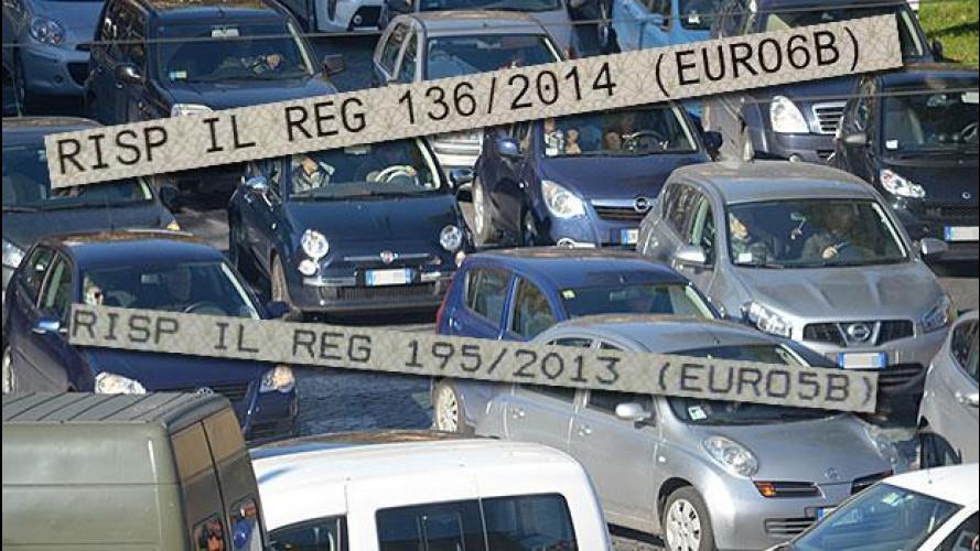 Auto Euro 5 ed Euro 6, ecco come riconoscerle