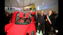 Museo Enzo Ferrari di Modena, l'inaugurazione