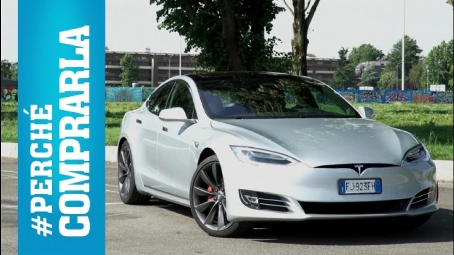 Tesla Model S, perché comprarla… e perché no [VIDEO]