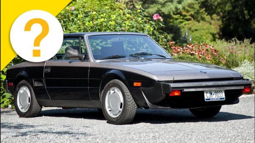 La Fiat X-1/9 era una 128 girata al contrario