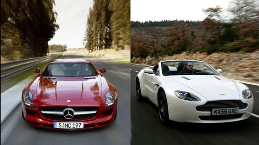 Aston Martin, i motori V8 saranno Mercedes-AMG