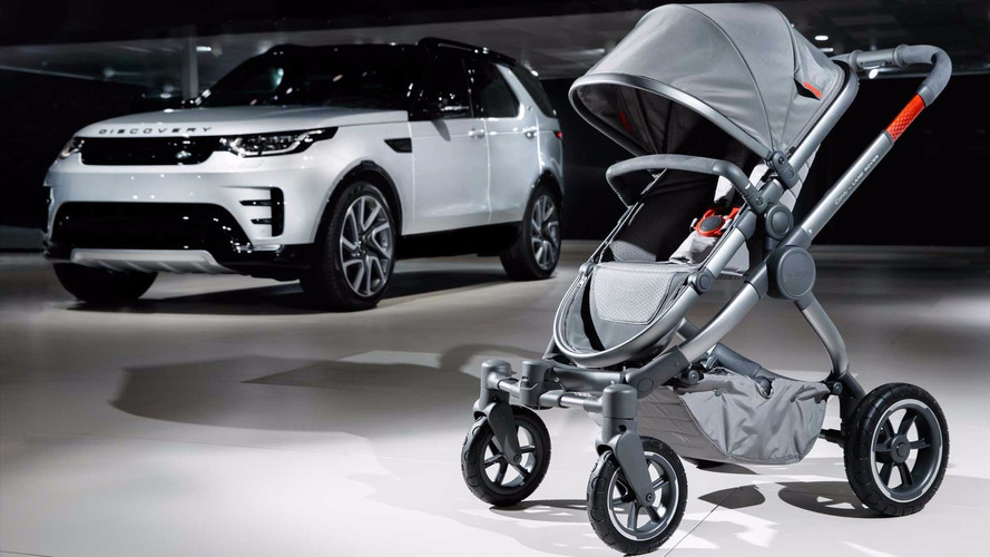 Land Rover Has An Off-Road Baby Stroller That Costs $2,000