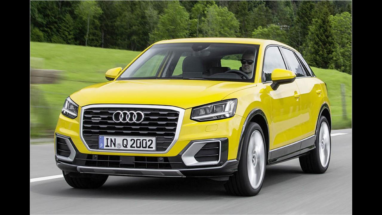 Audi Q2: 23.400 Euro