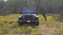 Mahindra Thar-based Jeep Wrangler replica