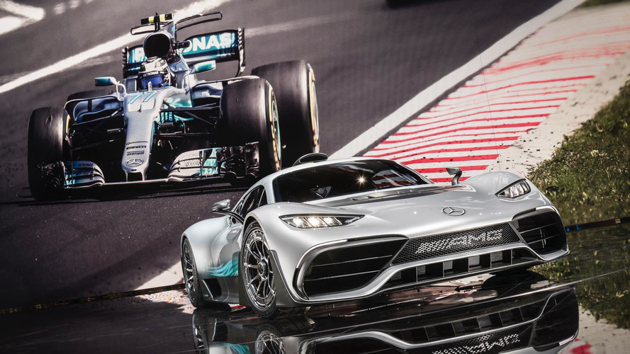 Mercedes-AMG secretly showed the new Project One in Monaco