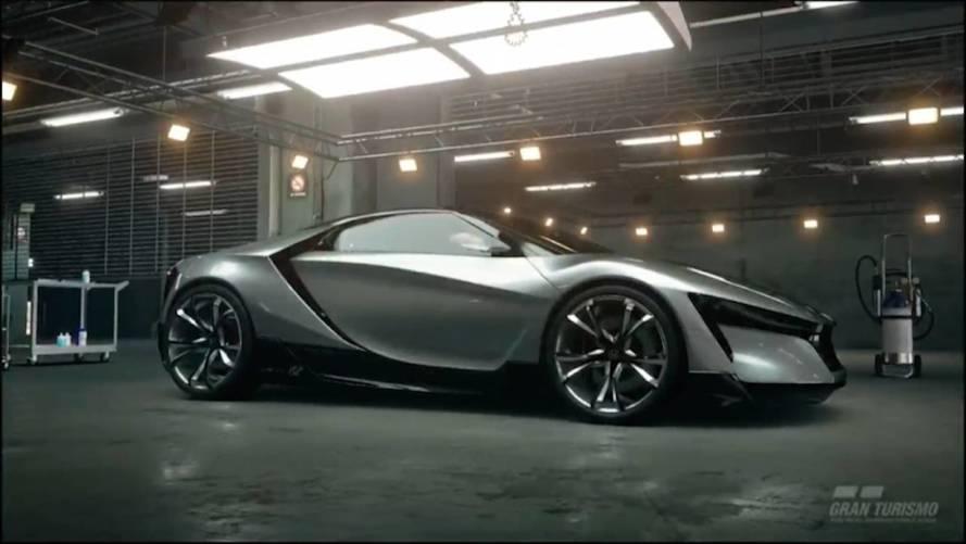 Honda'nın 'Minik NSX'i aslında Gran Turismo Sport konseptiymiş