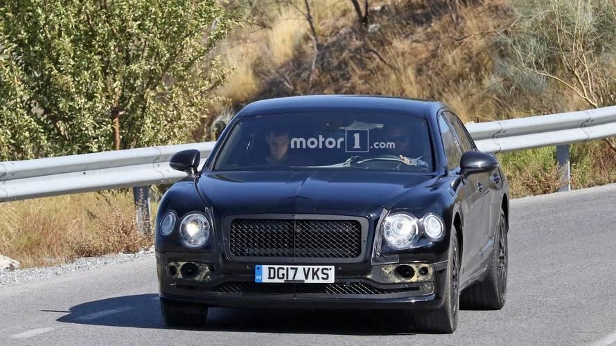 New Bentley Flying Spur spy photos
