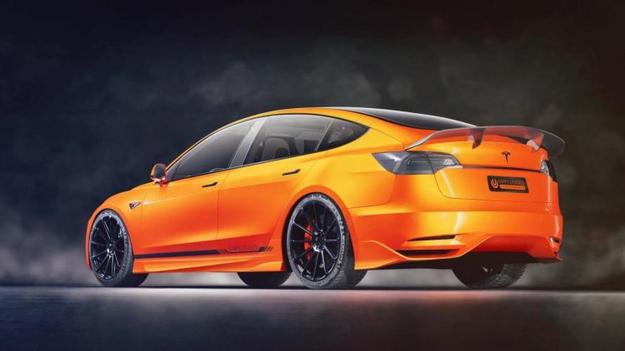 Unplugged Performance Reveals Modified Tesla Model 3