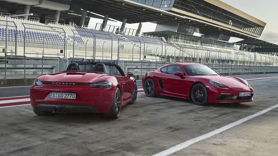 Porsche reveals 2018 718 Boxster and Cayman GTS