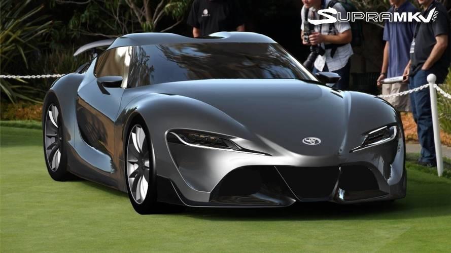 Újabb renderképen a következő-generációs Toyota Supra